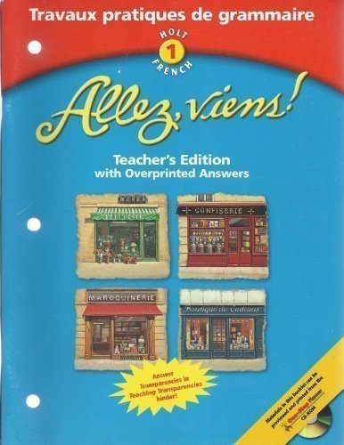 9780030649943: Allez Viens! - Teacher's Edition: Level 1 Travaux Pratiques De Grammaire (French Edition)