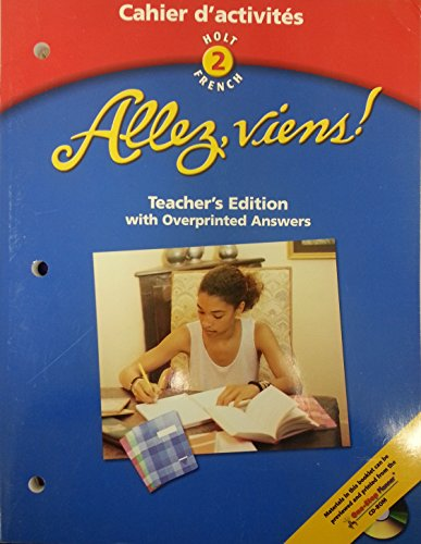 9780030650024: Allez Viens! Holt French, Level 2, Vol. 2: Cahier d'activites (English and French Edition)
