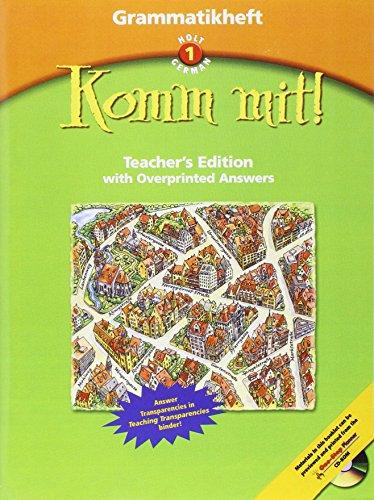9780030650093: Grammatikheft Te Komm Mit! LV 1 2003