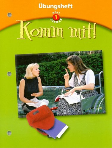 Komm mit!: bungsheft Level 1