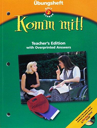 9780030650178: Ubungsheft Teacher's Edition Komm Mit! Level 2 2003