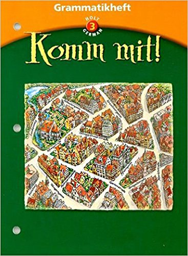 9780030650185: Grammatikheft Te Komm Mit! LV 3 2003