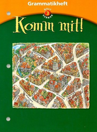 9780030650192: Komm mit!: Grammatikheft Level 3