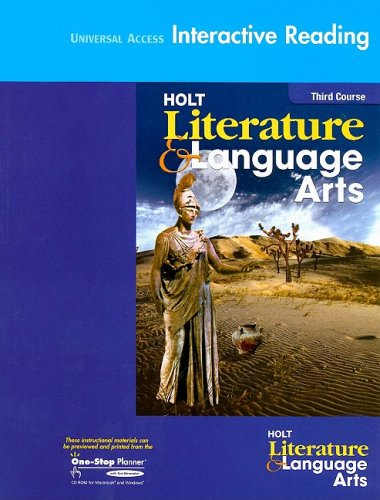 9780030650314: Holt Literature and Language Arts California: Universal Access Interactive Reader Grade 9