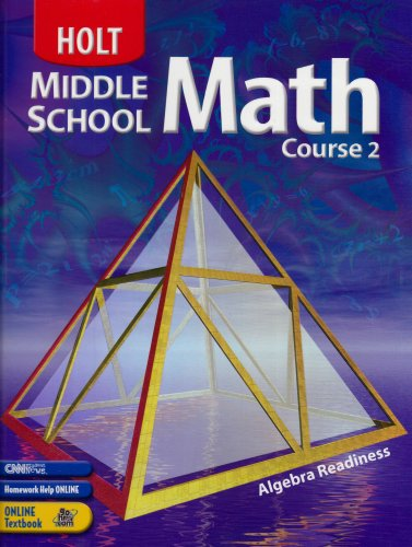 9780030650543: Holt Middle School Math Course 2, Grade 7 Student Textbook