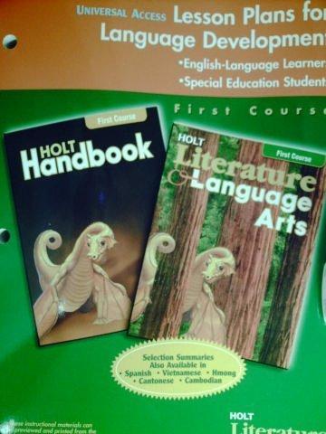 9780030651229: Universal Access Lesson Plans for Language Development (Holt Literature & Language Arts)