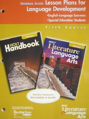 9780030651274: CA Univ Access Lesson Pln Hlla G 11 2003