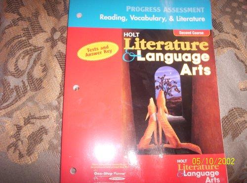 9780030651595: Progress Assessment Reading, Vocabulary, & Literature (Holt Literature & Language Arts)