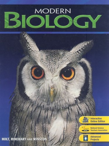 9780030651786: Modern Biology: Student Edition 2006