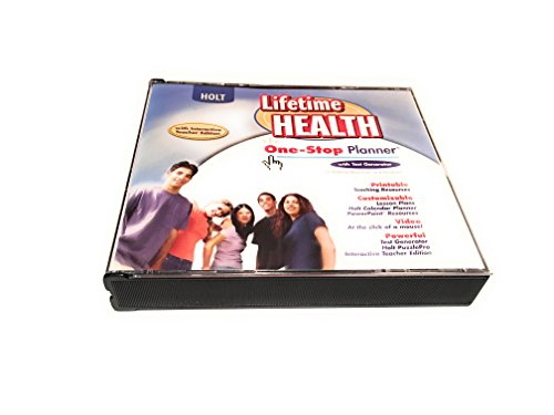 9780030652073: Lifetime Health: One-Stop Planner CD-ROM with Test Generator