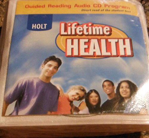 9780030652080: Holt Lifetime Health Guided Reading Audio CD Program Direct read of the student text. (Audio CD)