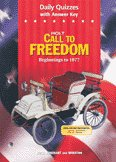 9780030652318: Daily Quizzes with Answer Key (Holt Call to Freedom - Beginnings to 1877)