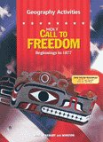 9780030652325: Geography Activities (Holt Call to Freedom - Beginnings to 1877)