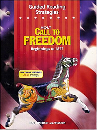 9780030652349: Call to Freedom: Guided Reading Strategies Grade 7 Grade 07