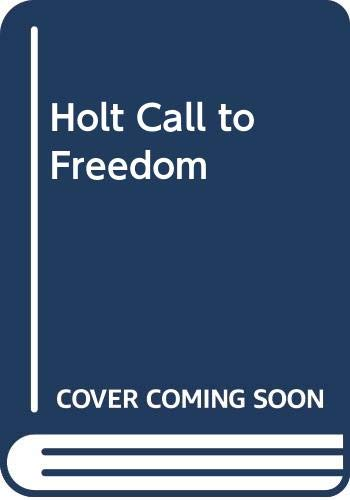9780030652424: Call to Freedom, Annotated Teacher's Edition