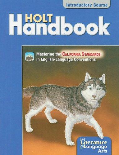 9780030652790: Holt Handbook California: Student Edition Grade 6