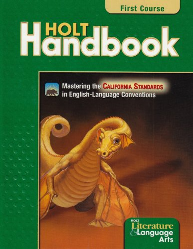 9780030652813: Holt Handbook California: Student Edition Grade 7