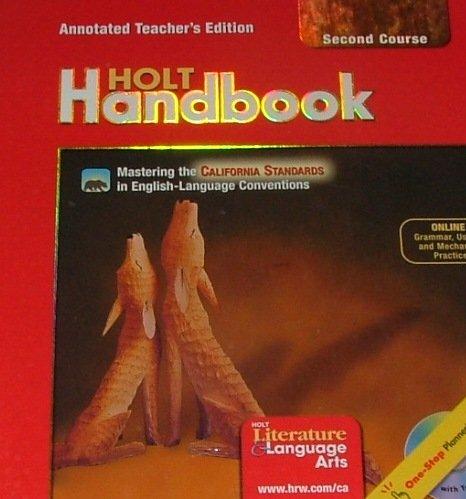 9780030652912: Holt Handbook Second Course Annotated Teacher's Ed. California Standards