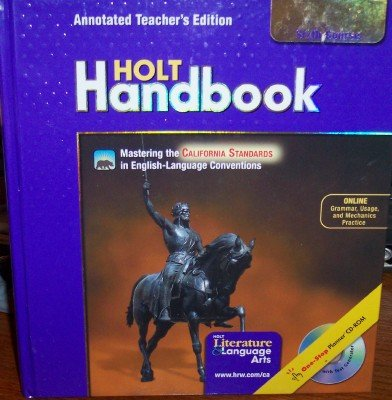 9780030652967: Holt Handbook, Sixth Course (Holt Literature & Language Arts, Annotated)