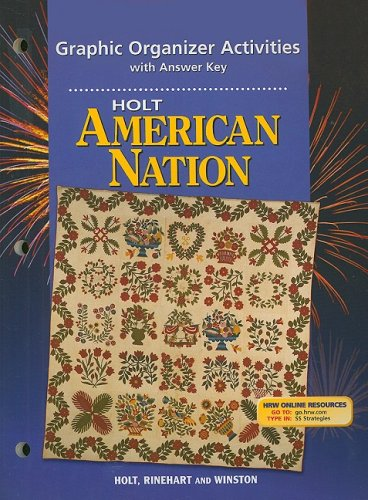 9780030653315: Holt American Nation: Graphic Organizer Activites Grades 9-12