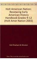 9780030653414: Holt American Nation: Reviewing Early American History Handbook Grades 9-12