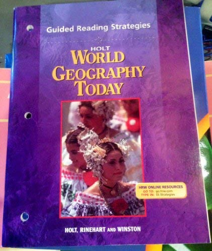 9780030654183: Guided Reading Strategies for World Geography Today