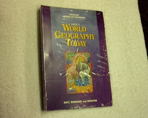 Holt World Geography Today, Student Audio Cds
