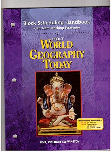 Block Scheduling Handbook with Team Teaching Strategies: Holt Rinehart &