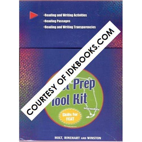 9780030654442: **BOX SET* Intermediate Test Prep Tool Kit (Skills For FCAT) - Kit Includes Reading And Writing Activities, Reading Passages, Reading And Writing Transparencies (Holt, Rinehart And Winston)