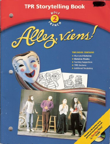 9780030654787: Allez, Viens! Holt 2 French TPR Storytelling Book