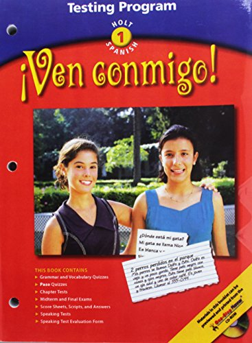 VEN CONMIGO! LV 1 TESTING Program: Rheinhart And Winston Holt