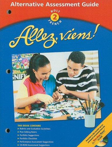 9780030655647: Holt French 2: Allez, Viens! Alternative Assessment Guide