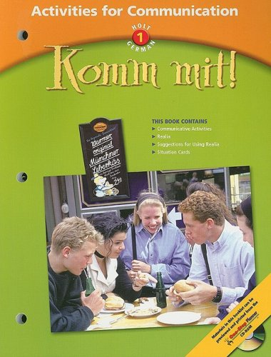 9780030655739: Komm mit!: Activities for Communication Level 1