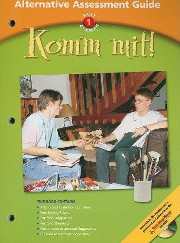 9780030655746: Holt German 1 Komm Mit! Alternative Assessment Guide