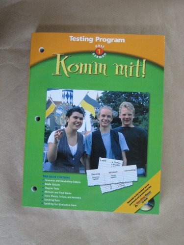 9780030655760: Komm mit!: Testing Program Level 1