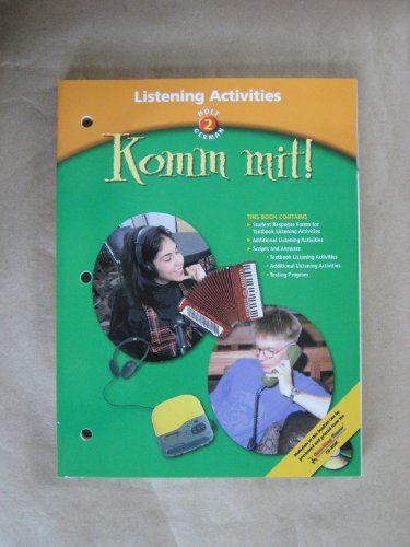 9780030655777: Komm mit!: Listening Activities Level 2