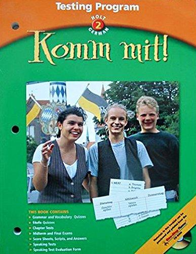 Holt German: Testing Program, Level 2: Komm