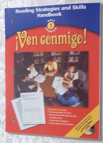 9780030656194: Ven Conmigo! level 1 Reading Strategies & Skills Handbook