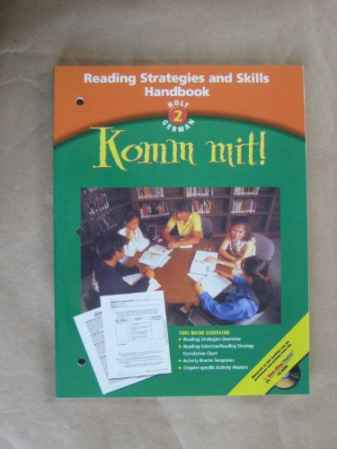 9780030656446: Komm Mit! level 2 Reading Strategies & Skills Handbook
