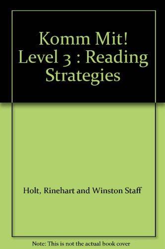 9780030656477: Komm Mit! Level 3 : Reading Strategies