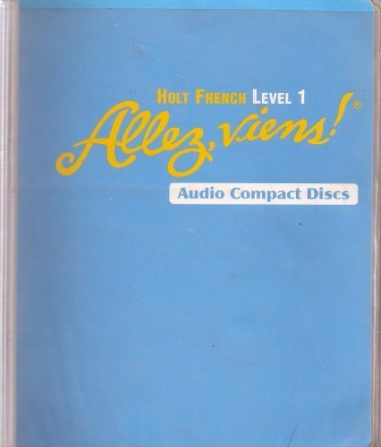 9780030656699: Allez, viens!: Audio CD Program Level 1