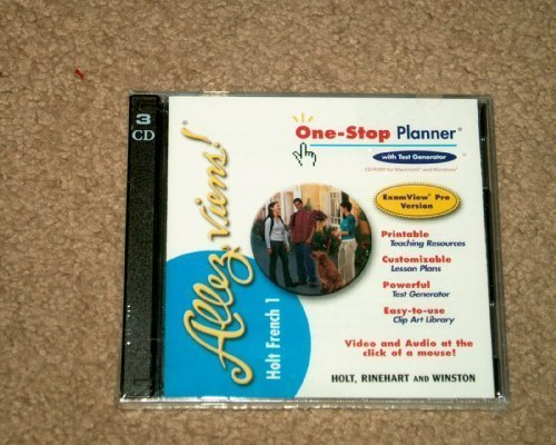 9780030656712: Allez Viens! French 1 One-Stop Planner CD-ROM set