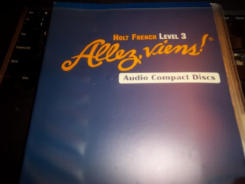 9780030656842: Allez, viens! Level 3 Audio Compact Discs set