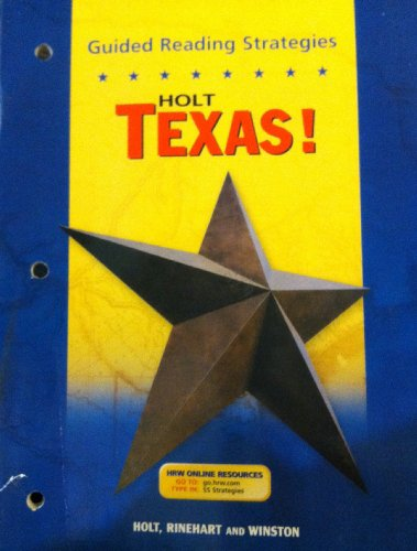9780030657016: Guided Reading Strategies Holt Texas