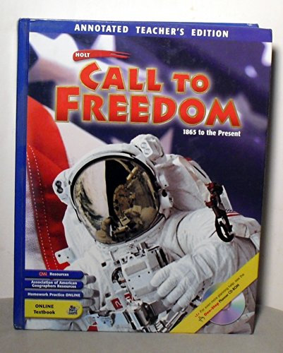 9780030657115: Call to Freedom 1865 to Present TEACHERS EDITION