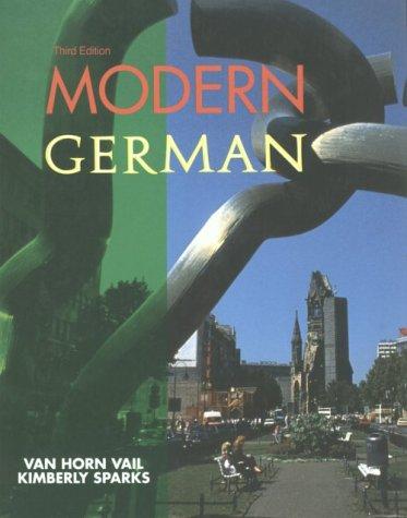 9780030657580: Modern German (English and German Edition)