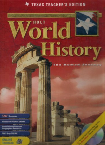 TX Ate Holt Wld Hist/Human Journey 2003