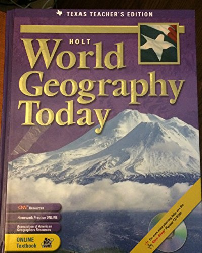 Holt World Geography Today (TE): Rinehart and Winston