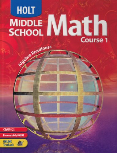 9780030657986: Holt Middle School Math: Student Edition Course 1 2004