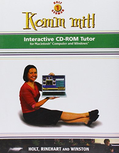 9780030658686: Komm Mit! Interactive CD-ROM Tutor: Holt, Level 1: German